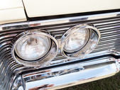 Headlight of car — Stock Photo