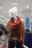 Mannequin wearing jacket — 图库照片