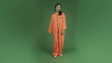 Asian woman woman — Stock Video