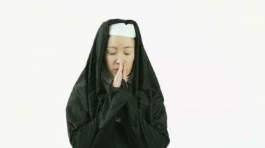 Kavkazský nun — Stock video