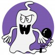 Stock Vector: Ghost