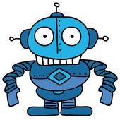 робот из космоса — Cтоковый вектор