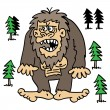 Bigfoot — Stock Vector