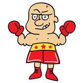 Boxer — Stock Vector