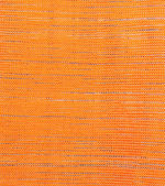 Orange fabric texture background — Stock fotografie