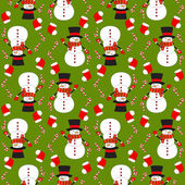 X-mas and New Year background. Seamless pattern for holiday design. — Stock Vector