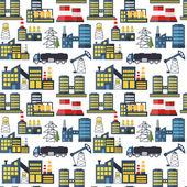 Moderna industriella sömlös bakgrund. — Stockvektor