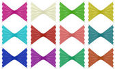 Set of ribbon, 3D — Stock Photo