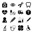 Medical Icons Set — Stock Vector #31880137