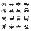 Transport Icons — Stockvektor #32082349
