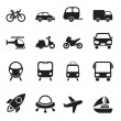 Transport Icons — Wektor stockowy #32082349