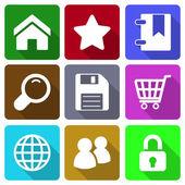 Web Icons Set 1 — Stock Vector