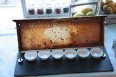 Fresh Honey comb on buffet — Stock Photo