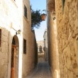 Narrow streets of Mdina, Malta — Stock Photo