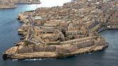 La Valetta, Malta aerial photo — Stock Photo