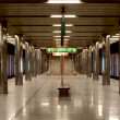 Metro station in Prague — Stock Photo