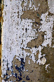 Grunge concrete wall covered with old paint, dust and stains — Stock Photo