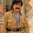Kurd wearing overall and belt in Arbil, Iraqi Kurdistan, Iraq. — Stock Photo