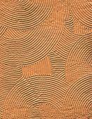 Circular texture of gentle orange color — Stock Photo