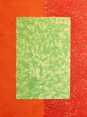 Decorative plaster — Stock Photo