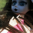 Collectible porcelain doll — Stockfoto