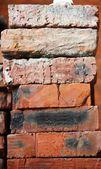 Kupie cegły — Zdjęcie stockowe