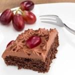 Постер, плакат: Chocolate cake with chocolate topping