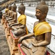 Ancient Buddha Statue — Stock Photo