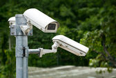 Security Cameras Group — Stock Photo