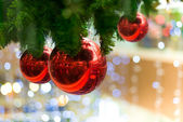 Christmas decoration Background — Photo