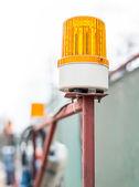 Lampeggio faro — Foto Stock