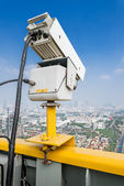 Traffic Security Camera — Stock Photo