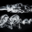 Stock Photo: Shape of smoke
