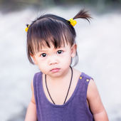 Cute asian girl — Stock Photo