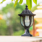 Electrical lamp — Stock Photo