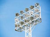 Stadium spotlight — Stock Photo