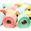 Colorful toilet paper rolls — Stock Photo #48773837