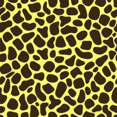 Seamless texture of giraffe spots — Stockvector