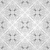 Wzór z kwiatów i liści — Wektor stockowy
