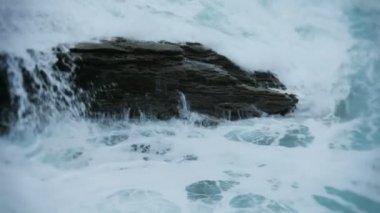 Crashing Tidal Wave — Stock Video