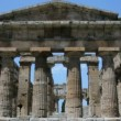 Stock Video: Front View of Ancient Greek Temple