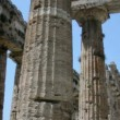 Stock Video: Pillars of an Ancient Greek Temple