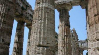 古希腊庙宇的支柱 — 图库视频影像