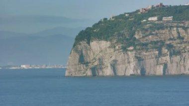 Punta Scutari in Bay of Naples Italy — Stock Video
