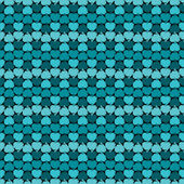 Seamless pattern of hearts — Stock Vector