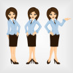 Businesswoman — Stock Vector