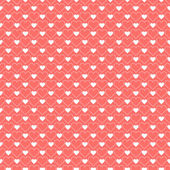 Pattern with hearts. — Stock Vector