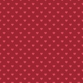 Romantic  pattern with hearts — Stock vektor