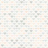 Romantic seamless pattern with hearts. — ストックベクタ