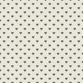 Romantic seamless pattern with hearts — Vettoriale Stock